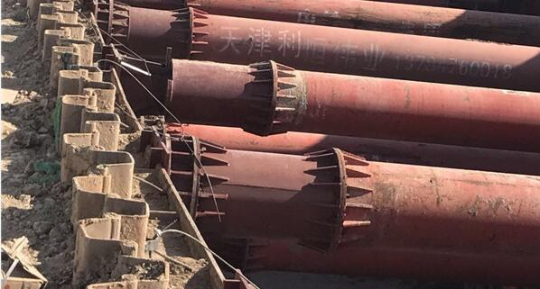 地铁专用钢支撑安装